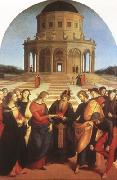 Raphael Marriage of the Virgin (mk08) oil painting picture wholesale
