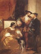 Richard Parkes Bonington Francis Iand the Duchess of Etampes (mk05) oil painting picture wholesale