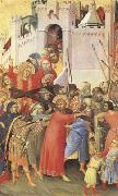Simone Martini The Road to Calvary (mk08) oil painting picture wholesale