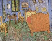 Vincent Van Gogh The Artist's Bedroom in Arles (mk09) oil painting picture wholesale