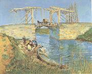Vincent Van Gogh The Langlois Bridge at Arles (mk09) oil painting picture wholesale
