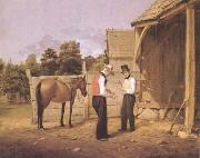 William Sidney Mount The Horse Dealers (mk09) oil painting picture wholesale