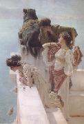 Alma-Tadema, Sir Lawrence Coign of Vantage (mk23) oil painting picture wholesale