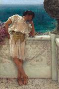 Alma-Tadema, Sir Lawrence The Poet Gallus Dreaming (mk23) oil painting picture wholesale