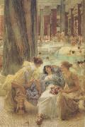 Alma-Tadema, Sir Lawrence The Baths of Caracalla (mk24) oil painting picture wholesale
