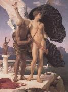 Alma-Tadema, Sir Lawrence Frederic Leighton,Daedalus and Icarus (mk23) oil painting picture wholesale