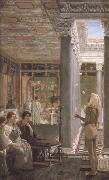 Alma-Tadema, Sir Lawrence A Juggler (mk23) oil painting picture wholesale