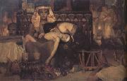 Alma-Tadema, Sir Lawrence The Death of the First-Born (mk23) oil painting picture wholesale