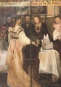 Alma-Tadema, Sir Lawrence The Epps Family Screen (detao) (mk23) oil painting picture wholesale