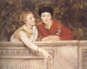 Alma-Tadema, Sir Lawrence Gallo-Roman Women (mk23) oil painting picture wholesale