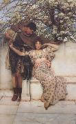 Alma-Tadema, Sir Lawrence Promise of Spring (mk24) oil painting picture wholesale