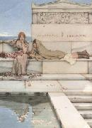 Alma-Tadema, Sir Lawrence Xanthe and Phaon (mk23) oil painting picture wholesale