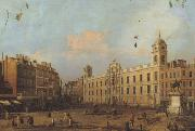 Canaletto Northumberland House a Londra (mk21) oil painting picture wholesale