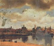 Canaletto Jan Vermeer van Delf Veduta di Delft (mk21) oil painting picture wholesale