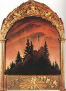 Caspar David Friedrich The Tetschen Altarpiece (mk10) oil painting picture wholesale