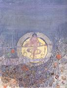 Charles Rennie Mackintosh Harvest Moon (mk19) oil painting artist