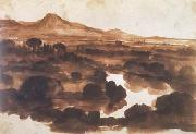Claude Lorrain View from Monte Mario (mk17) oil painting picture wholesale