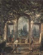 Diego Velazquez Villa Medici in Rome (Pavilion of Ariadne) (df01) oil painting picture wholesale