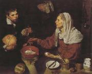Diego Velazquez Old Woman Frying Eggs (df01) oil painting picture wholesale