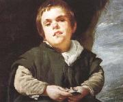 Diego Velazquez The Dwarf Francisco Lezcano (el Nino de Vallecas) (detail) (df01) Germany oil painting reproduction