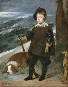 Diego Velazquez Prince Baltasar Carlos as a Hunter (df01) Germany oil painting reproduction