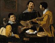 Diego Velazquez Musical Trio (df01) oil painting picture wholesale