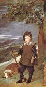 Diego Velazquez Portrait du Prince Baltasar Carlos en costume de chasse (df02) Germany oil painting reproduction