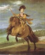 Diego Velazquez Prince Baltasar Carlos on Horseback (df01) Germany oil painting reproduction