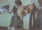Edgar Degas Milliners (nn02) oil painting picture wholesale