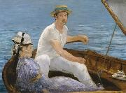 Edouard Manet Boating (nn02) oil painting picture wholesale