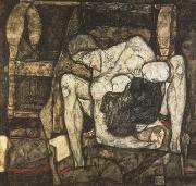 Egon Schiele Bilnd Mother (mk12) oil painting picture wholesale