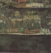 Egon Schiele The Samll city III (mk12) oil painting picture wholesale