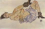 Egon Schiele Reclining Female Nude (mk12) oil painting picture wholesale
