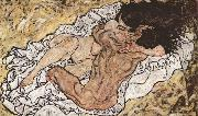 Egon Schiele Embrace (mk12) Germany oil painting reproduction