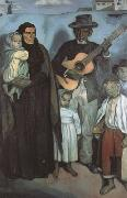 Emile Bernard Spanish Musicians (mk19) oil painting picture wholesale