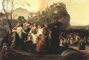 Francesco Hayez The Refugees of Parga (mk22) oil painting picture wholesale