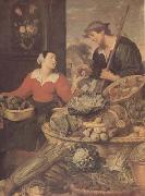 Frans Snyders detail Fruit and Vegetable Stall (mk14) oil painting picture wholesale