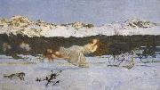 Giovanni Segantini The Punishment of The Lustful (mk19) oil painting picture wholesale