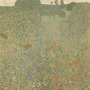 Gustav Klimt Poppy Field (mk20) oil painting picture wholesale