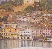 Gustav Klimt Malcesine on Lake Garda (mk20) oil painting picture wholesale