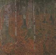 Gustav Klimt Birch Wood (mk20) oil painting picture wholesale