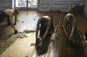 Gustave Caillebotte The Floor Scrapers (nn020 oil painting picture wholesale