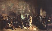 Gustave Courbet The Painter's Studio (mk22) oil painting picture wholesale