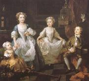 HOGARTH, William The Graham Chidren (mk08) oil painting picture wholesale