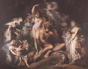 Henry Fuseli Titania and Bottom (mk08) oil painting picture wholesale