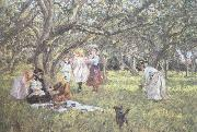 James Charles The Picnic (nn02) oil painting artist