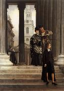 James Tissot London Visitors (nn01) oil painting picture wholesale