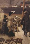 James Tissot Goodbye-On The Mersey (nn01) oil painting picture wholesale