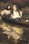 James Tissot On the Thames a Heron (nn01) oil painting picture wholesale