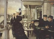 James Tissot The Captain's Daughter (nn01) oil painting picture wholesale